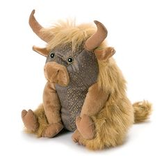 Oh my god, just look at him, just how adorable will this Dora Designs Angus Highland Cow Door Stop look sitting by your door! free p&p