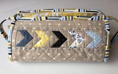 Sew Together Bag/Handmade Bag/Zipper Bag by RoyalGardenDesigns