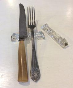 kristalliset aterinlepuuttimet . 12 kpl . @kooPernu