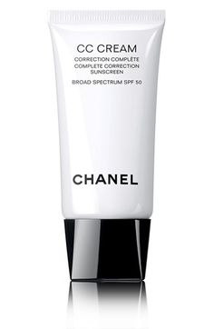 CHANEL CC CREAM Complete Correction Sunscreen Broad Spectrum SPF 50 available at #Nordstrom