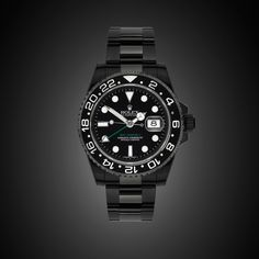 Blacked out Rolex, GMT-Master II
