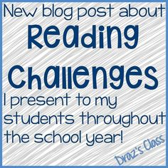 Check out my latest blog post! I would love to hear what kind of reading challenges you give your students throughout the year to get them to read read read! #readingchallenges #readingchallenge #30bookchallenge . . . . . #teachersfollowteachers #TpTteacher #teachergram #teachersofinstagram #teachersofig #teacherstatus #teachersoftpt #iteachtoo #teachertribe #iteachfifth #iteach5 #iteach345 #iteach5th