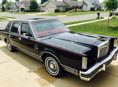 1981 Lincoln Continental Mark VI  1980 to 1989 CARZ  Pinterest