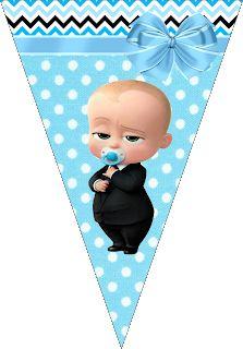 Fiestas Personalizadas Imprimibles: Kit para imprimir Gratis de Jefe en Pañales Caleb, Boss Baby, Batman, Frame, Ideas, Unicorn Crafts, Boss Birthday, Free Printable, Party Kit