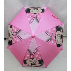 "Minnie Mouse ""Big Smile"" Umbrella Pink One Size 