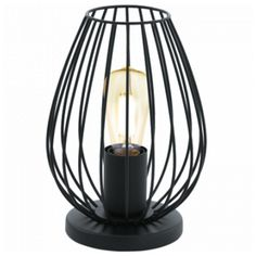 Newtown bordlampe Sort | Lampehuset | 350,-