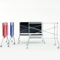 Flip Trolley Antonio Citterio with Toan Nguyen for Kartell