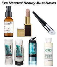 Eva Mendes Beauty Must-Haves