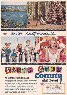 Santa Cruz County Ad 1962 by hmdavid, via Flickr