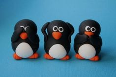 See no evil.... hear no evil..... speak no evil...  The penguins creed