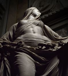 """Veiled truth"" is one of the masterpieces of Venetian sculptor Antonio Corradini (1688-1752)"