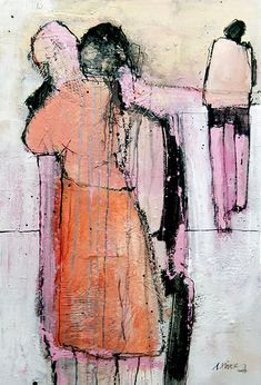 Modern Art, Contemporary Art, Human Figure Drawing, Art Abstrait, Figure Painting, Figurative Art, Art Pictures, Collages, Art Drawings