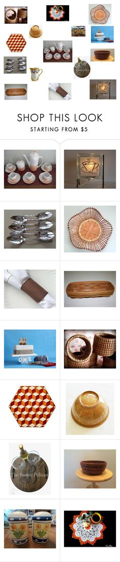"""Unique table ware"" by einder ❤ liked on Polyvore featuring interior, interiors, interior design, home, home decor, interior decorating, Hostess and vintage"