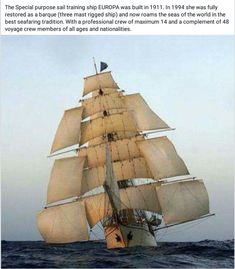 Take part in a tall ship race with Classic Sailing. Hands on traditional tall ship racing holidays with destinations across the world. Tall Ships Race, Old Sailing Ships, Sailing Boat, Tattoo Barco, Bateau Pirate, Classic Sailing, Full Sail, Cool Boats