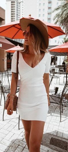 Youth-Song Black and White Striped Mini Pencil Dress Women Casual Fitted T Shirt Dress