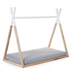 Teepee floor bed
