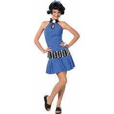 Teen Betty Rubble Costume