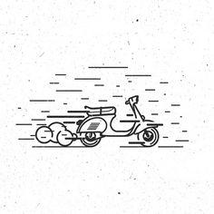 #istanbul #vespa_france #vespa #turkey #motor #motorcycle #bike #scooter #freedom #thedesigntip #man #kadikoy #logo #design #illustrator #thicklines #pixel #branding #instaartist #GraphicGang #thevectorproject #vector #vectorillustration #thedesigntip #speed #iconaday #thicklines #love #style #vespaturkey #fantastic @logothorns @thedesigntip @thinksmartgrowrich @iconaday @behance @dribbble @vespadesign @logoinspirations @vespaturkey @vespanarcotic