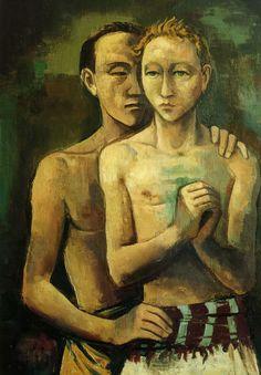 Karl Hofer, Two Friends, 1926