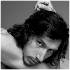 Inez & Vinoodh capture a stunning portrait of Adam Driver.