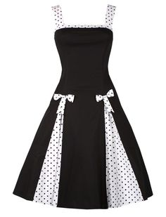 "Robe Pin Up ""Lainey"" - Noire"