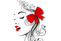 Kobieta, Profil, Rysunek