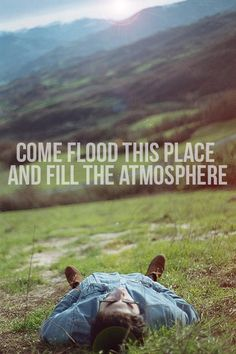 Holy Spirit You are welcome here   Come flood this place and fill the atmosphere   Your glory God is what our hearts long for   To be overcome by Your presence Lord
