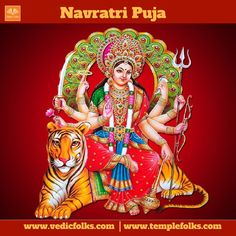 Navratri is a festival for the femine goddess.Praise the goddess and get the blessing. Navratri Pooja removes the evil effects. To know more http://www.vedicfolks.com/life-time-management/karma-remedies/shared-homam/navratri-puja.html