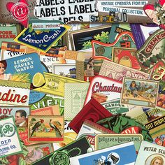 Labels Labels By Sherriejd @ Scrapbookgraphics.Com