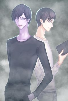 Junji Ito, Bishounen, Game Character, Couple Pictures, Pretty Boys, Identity, Fanart, Horror, Geek