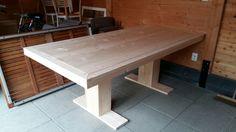 Tafel steigerhout diy doe het zelf