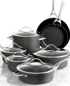 Contemporary Nonstick Calphalon Cookware... Best pots and pans you can buy a very good investment and I love cooking with them everyday!