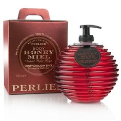 Love this stuff ! Perlier 1 Liter Honey and Holiday Spice Honeycomb Shower and Bath Gel at HSN.com.