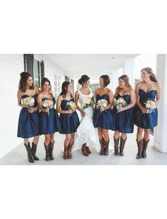 Kort Taf Bruidsmeisjes Jurken