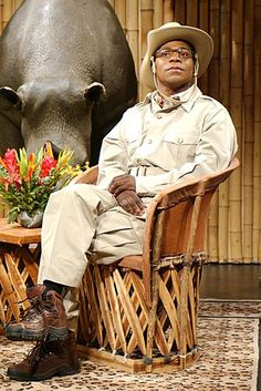 "Saturday Night Live: Tracy Morgan as Brian Fellow  ---- ""That bird is a liar!"""