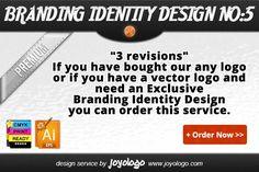 Branding Identity Design Service No5