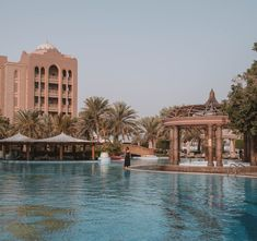 Emirates Palace is a must to visit when you drop by Abu Dhabi. This beautiful hotel is one of the largest hotels in the world and a hot spot for a lot of movies