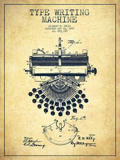 Free vintage clip art steampunk ephemera bicycle wheel ideas vintage patent drawings type writing machine patent drawing from 1897 vintage drawing malvernweather Choice Image