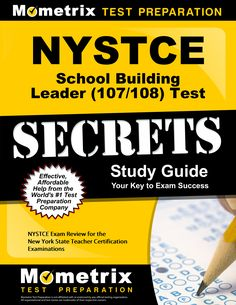 93 best nystce study guide images on pinterest exam study nystce school building leader 107108 test secrets study guide nystce exam fandeluxe Choice Image