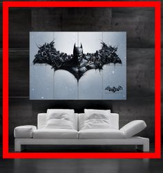 Joker IN Batman Arkham Origins 8 Parts HD poster by BOZOposters, $27.00