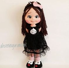 CLAIRE Crochet Toy / Amigurumi Doll - Crochet Doll for Daughter, Gift for Children, Gift for Baby, Gift for Sister, Baby Shower Gifts Crochet Doll Pattern, Crochet Toys Patterns, Stuffed Toys Patterns, Doll Patterns, Reborn Dolls, Baby Dolls, Gifts For New Moms, Baby Girl Gifts, Amigurumi Doll