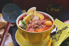 3in1: így főzzön sonkát, tojást és gombóclevest - Dívány Ramen, Yum Yum, Health, Ethnic Recipes, Food, Health Care, Essen, Meals, Yemek