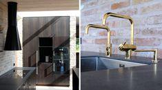 Ny villa i Farum Sink, Villa, Architecture, Red, Inspiration, Home Decor, Sink Tops, Arquitetura, Biblical Inspiration