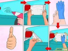Image titled Remove a Dent in Car With a Hair Dryer Step 9