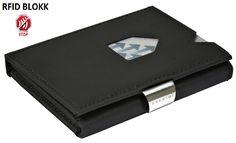 Exentri pénztárcák : EXENTRI BLACK NUBUCK (RFID) pénztárca