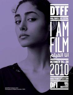 Doha Film Institute on Inspirationde Advertising Poster, Advertising Design, Graphic Design Posters, Graphic Design Typography, Brigitte Lacombe, Film Festival Poster, Identity, Film Institute, New Poster