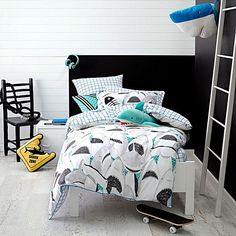 Kids Bed Linen   Kids Quilt Covers & Bed Sheets   Zanui