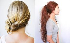 10 Easy Hairstyles for Long Hair - New Styling for 2015/2016 - http://helenglavin.com/10-easy-hairstyles-for-long-hair/457