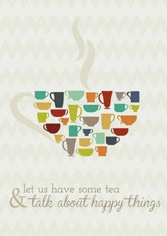 Let us have some tea and talk about happy things #GoodMorning #tea #happy #relax #panpuri #Madrid