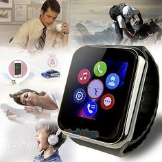 ﹩30.99. New Bluetooth Smart Wrist Watch SIM Smart Phone Mate For IOS Android S7 Edge USA    Operating System - Android Wear,